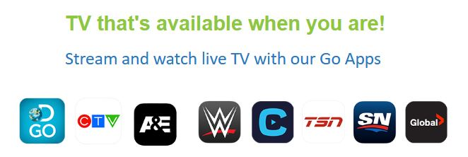 GO Apps From Ruralwave - Stream TV Online