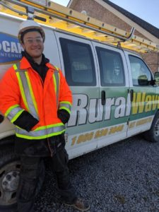 Meet Mark - Lead Fibre Technician At Ruralwave